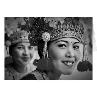 Barong Dancers, Bali Card