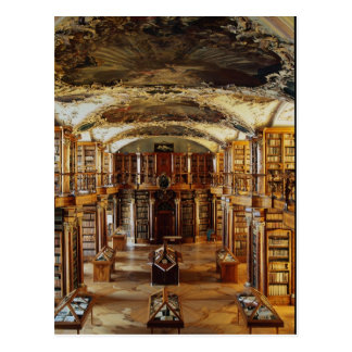 Baroque Abbey Library, St. Gallen, Switzerland Postcard