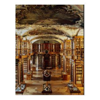 Baroque Abbey Library, St. Gallen, Switzerland Postcard
