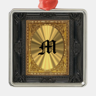 baroque and gold christmas ornament