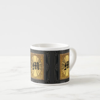 baroque and gold espresso cup