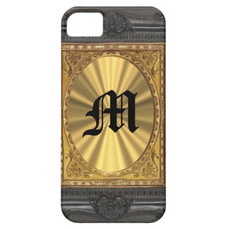 baroque and gold iPhone 5 cover