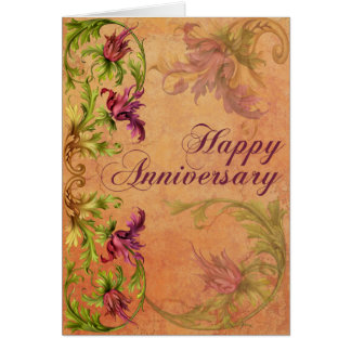Baroque Anniversary Card