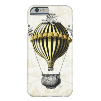 Baroque Balloon Black Yellow Barely There iPhone 6 Case