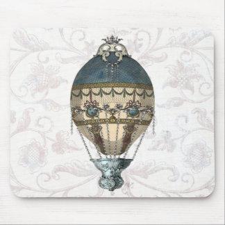 Baroque Balloon Blue & Cream Mouse Mat