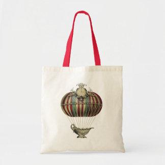 Baroque Balloon with Clock Tote Bag