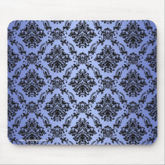 Baroque Blue Gothic Victorian Mousepad