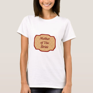 Baroque Damask Mother of The Brid TShirt Template