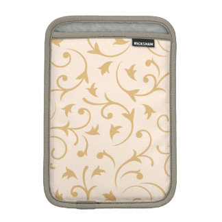 Baroque Design Cream & Gold iPad Mini Sleeve