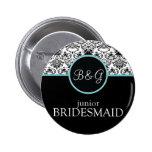 Baroque Elegance Junior Bridesmaid Pins