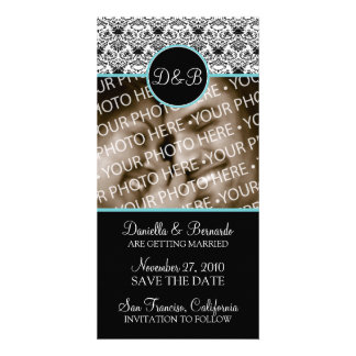 Baroque Elegance Save The Date Photo Card