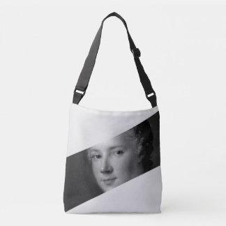 Baroque Face Crossbody Bag
