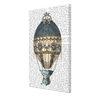 Baroque Fantasy Balloon 2 Canvas Print