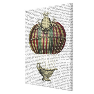 Baroque Fantasy Balloon Canvas Print