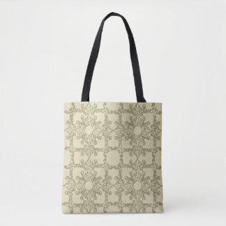 baroque grange pattern. tote bag