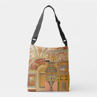 baroque Italian motifs collage Crossbody Bag