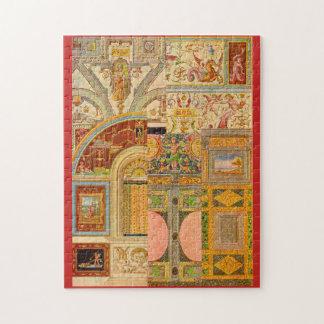 baroque Italian motifs collage Jigsaw Puzzle