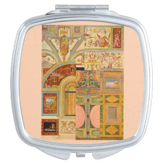baroque Italian motifs collage Mirrors For Makeup