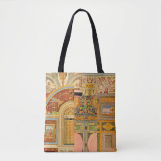 baroque Italian motifs collage Tote Bag