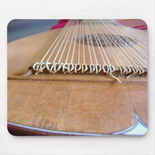 Baroque lute mouse mat