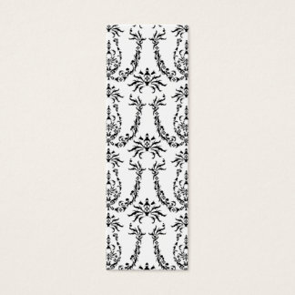 Baroque Pattern Bookmark Mini Business Card