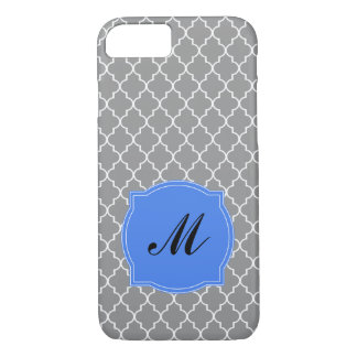 Baroque Pattern with Monogram or Name iPhone 7 Case