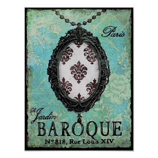 Baroque ~ Poster / Print
