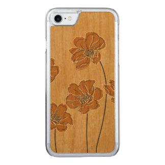 Baroque scheme floral carved iPhone 8/7 case