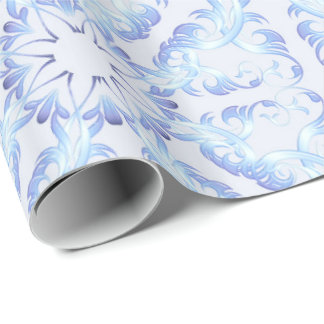 baroque seamless pattern wrapping paper