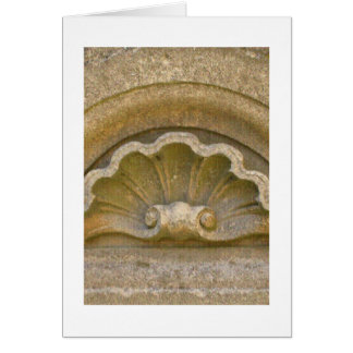 Baroque shell card
