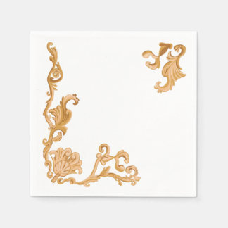 Baroque Shell Disposable Napkins