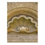 Baroque shell postcard
