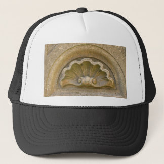 Baroque shell trucker hat