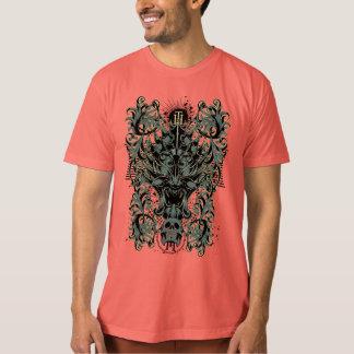 Baroque skull t shirt