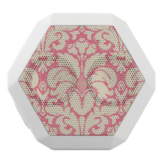 Baroque style damask background 2 white boombot rex bluetooth speaker