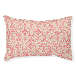 Baroque style damask background 2 pet bed