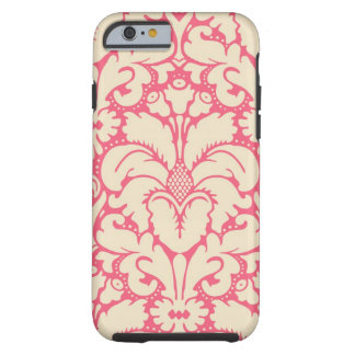 Baroque style damask background 2 tough iPhone 6 case