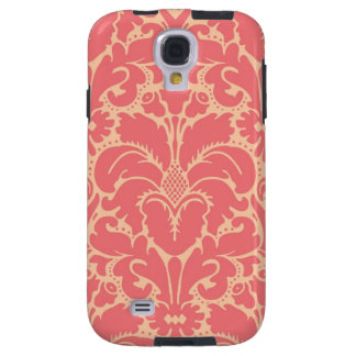 Baroque style damask background galaxy s4 case
