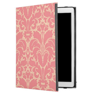 "Baroque style damask background iPad pro 12.9"" case"