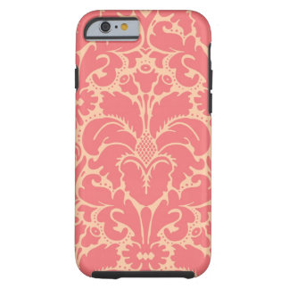Baroque style damask background tough iPhone 6 case