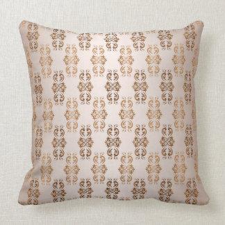 baroque style gradient beige  pattern. cushion