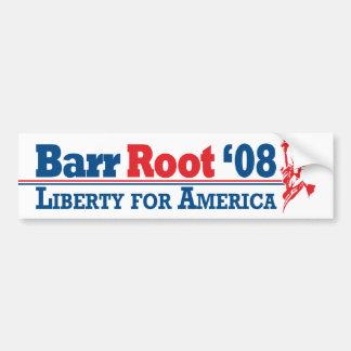 Barr-Root Bumper Sticker