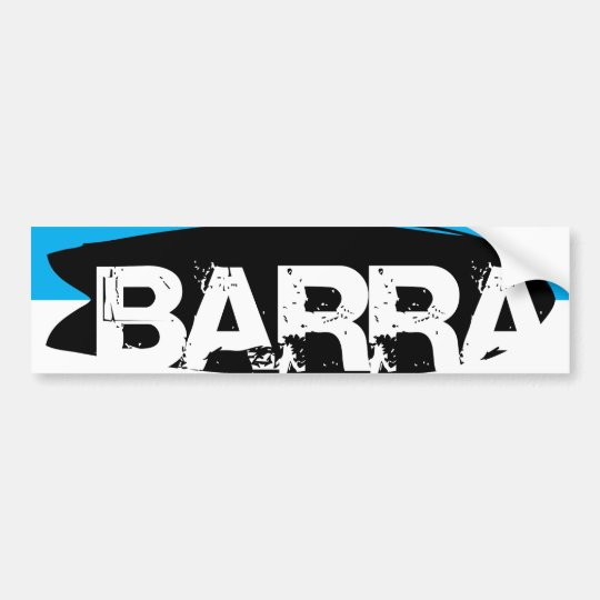Barra da Tijuca, RJ Bumper Sticker