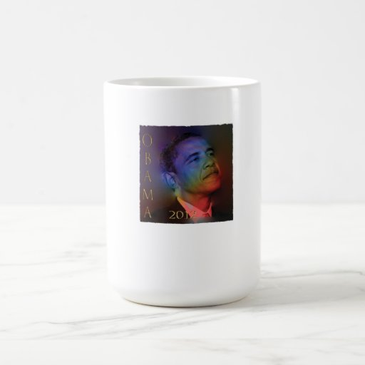 Barrack Obama Illuminated Coffee Mug