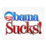 Barrack Obama Sucks Personalized Announcement