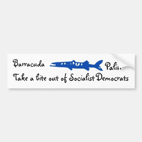 barracuda, Barracuda , Palin, Take a bite out o... Bumper Sticker