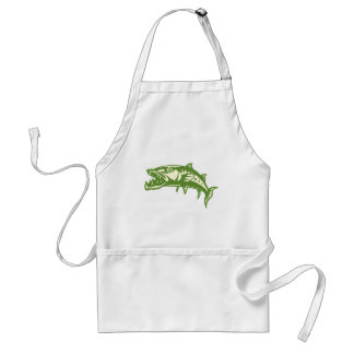Barracuda Fish #4 Standard Apron