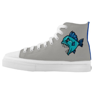Barracuda Fish High Top Shoe