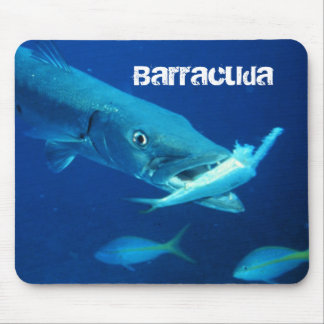 Barracuda Fish Mouse Mat