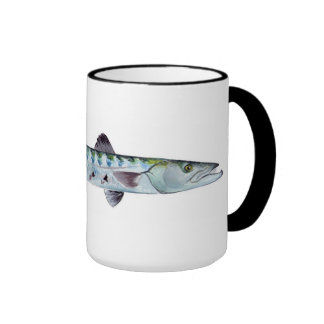 Barracuda fish mug
